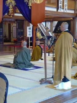 佛祖礼 真心を込めて礼拝を捧げます。